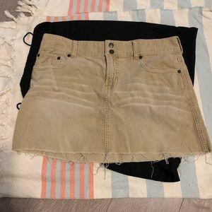 A&F skirt